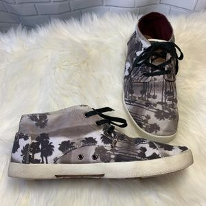 Toms Paseo Mid Top Sneakers Size 10
